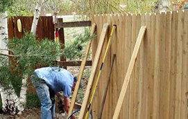 local fence repair contractor