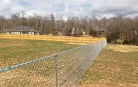 large yard fences