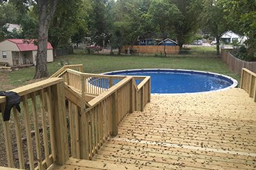 deck contractor in Nashville
