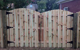 nashville shadow box double side fence